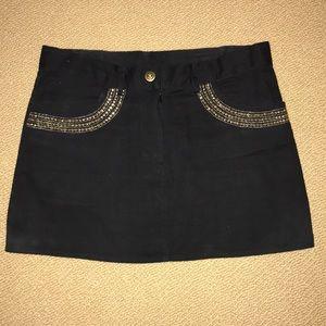 Lotta Stensson Black Mini Skirt, S